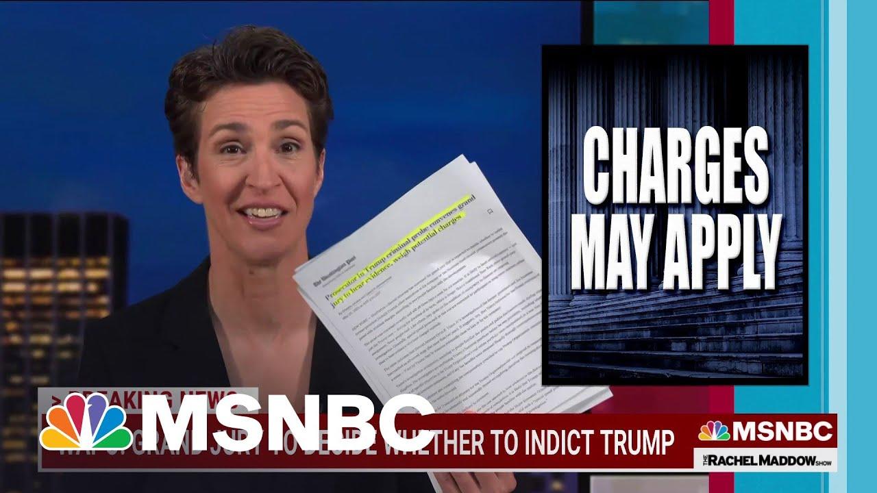 Maddow: Trump Grand Jury Not Surprising But Still Shocking | MSNBC 1