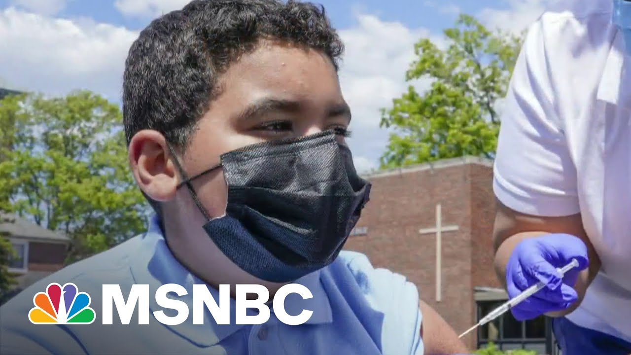 Moderna Says Vaccine Has Same Immune Protections For Teens | MSNBC 1