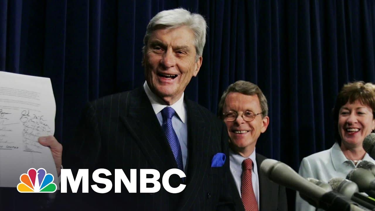 Former Senator John Warner Dies At 94 | Morning Joe | MSNBC 1