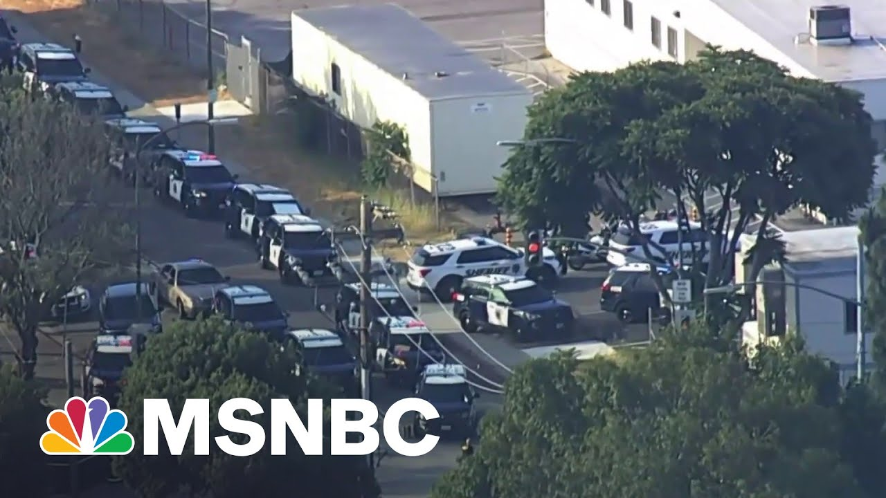 Sheriff Says Active Shooter In San Jose Is No Longer A Threat | MSNBC 3