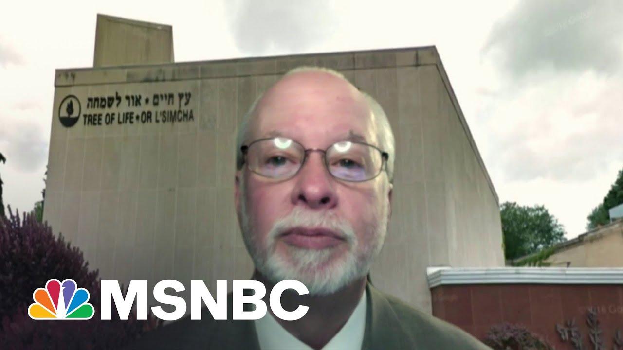 Tree of Life Synagogue Rabbi On Rising Anti-Semitic Attacks | MSNBC 1