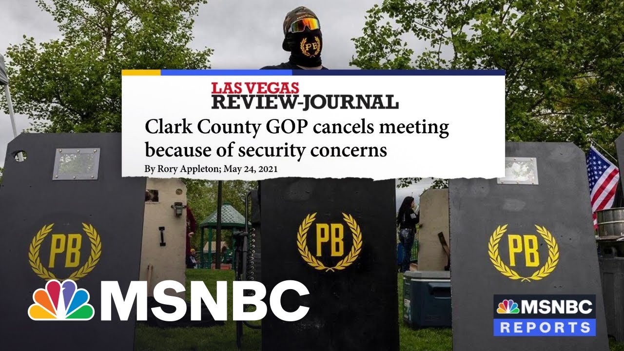 Proud Boys Threats Cancel Clark County, Nevada GOP Meeting 8