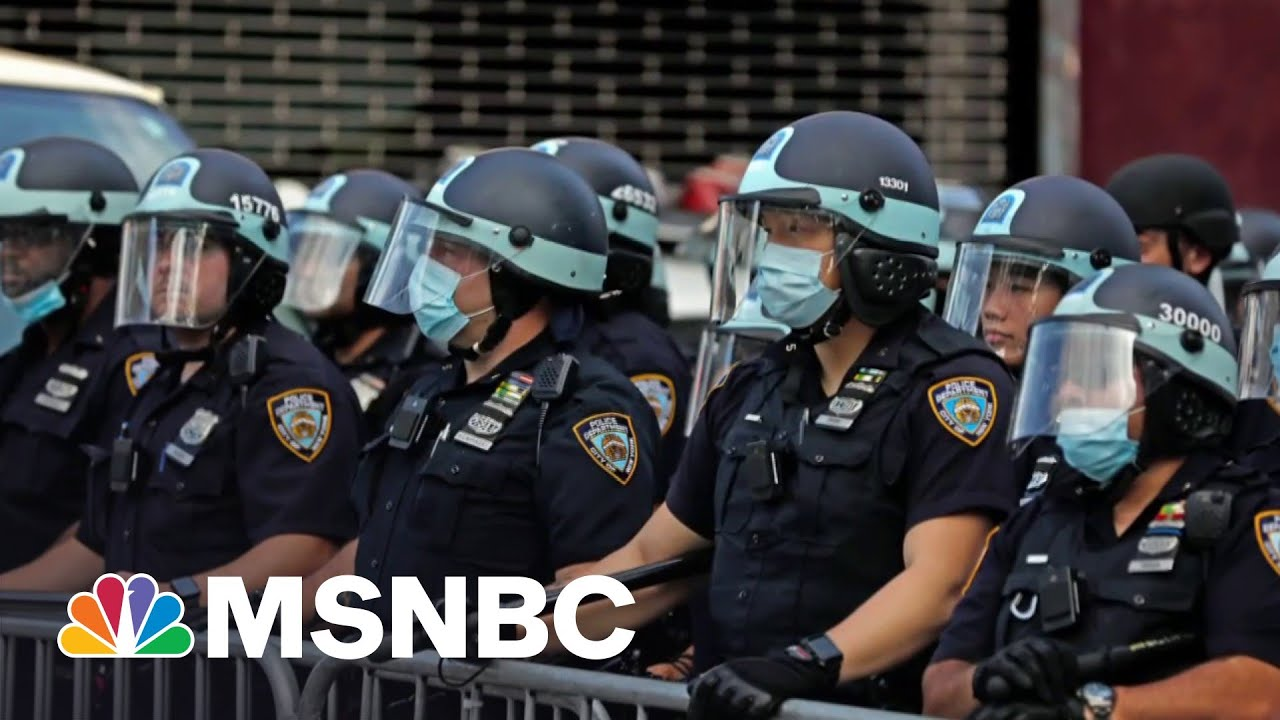 Facts: Police Killing At Exact Same Rate In Year Since George Floyd's Murder I MSNBC 1