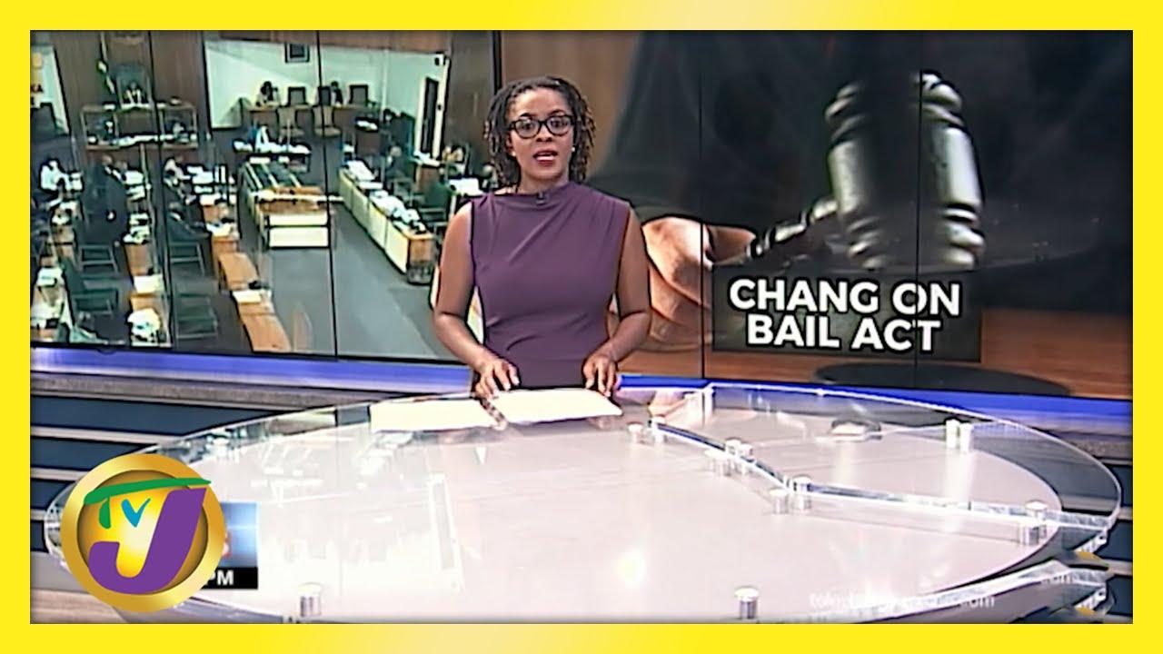 Jamaica's Bail Act Under Scrutiny   TVJ News - May 25 2021 1
