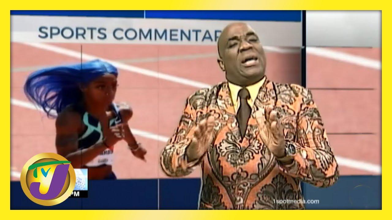 US Sprinter Richardson | TVJ Sports Commentary - May 25 2021 1