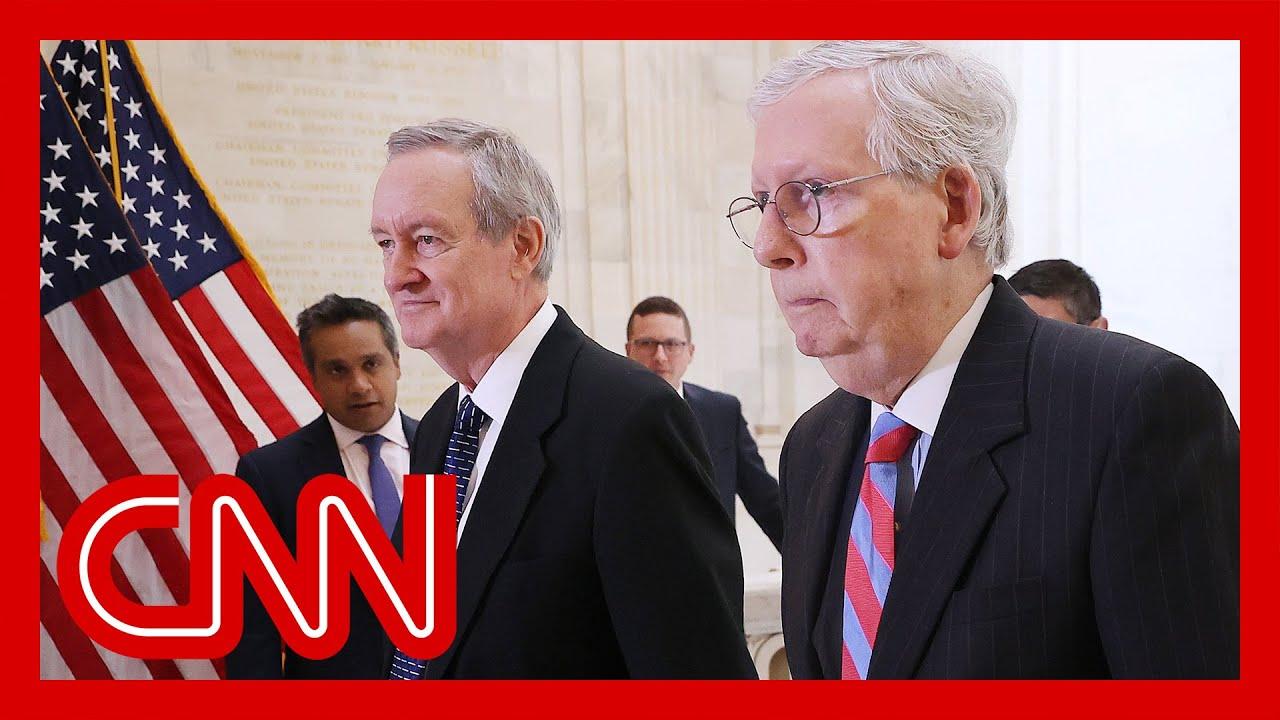 McConnell pressures senators to vote against Capitol riot commission 1
