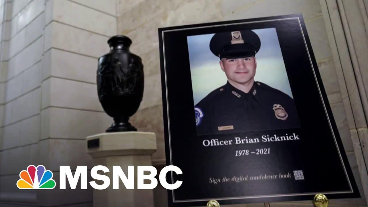 Mother Of Fallen Capitol Police Officer Urges GOP To Support Commission 1