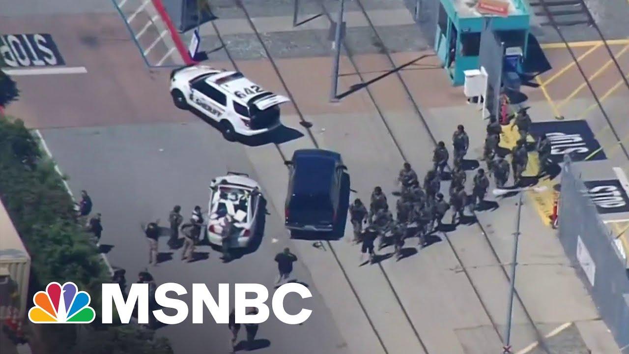 Nine Killed In Mass Shooting At California Rail Yard | MSNBC 8