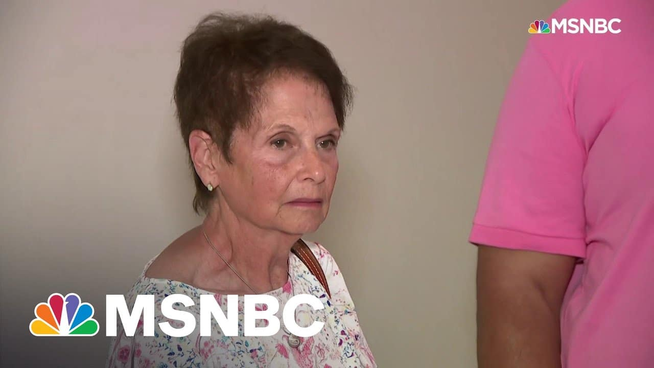 Officer Sicknick's Mother Meets With Senators On Capitol Hill | MSNBC 1