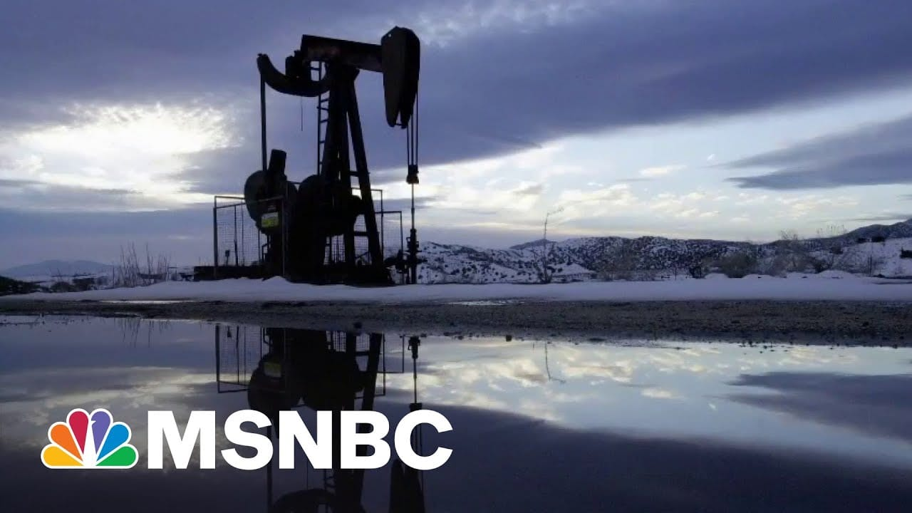 Oil Company Reaps, Sows Effects Of Climate Crisis | All In | MSNBC 5