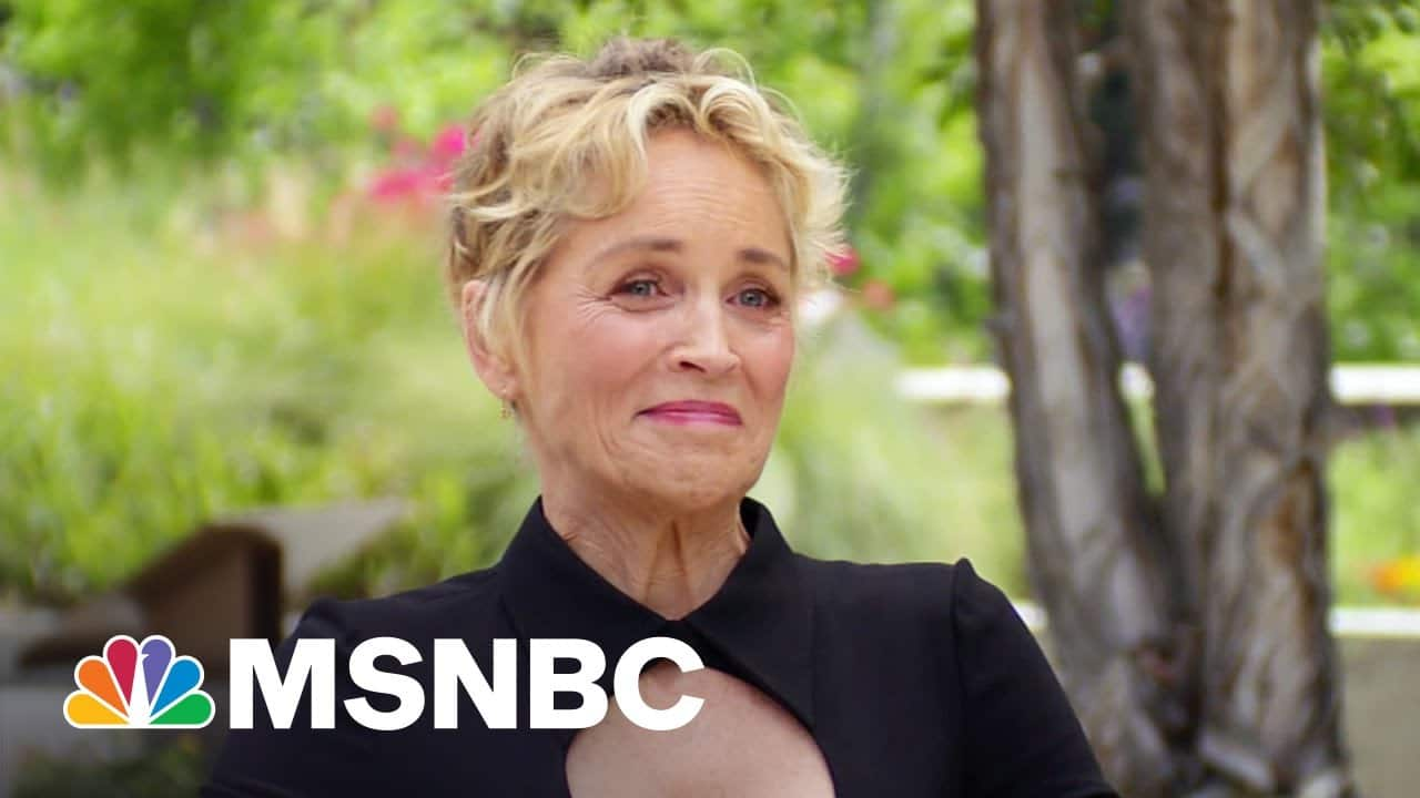 Sharon Stone On Her Friendship With Dr. Fauci – And Being In Kamala Harris's Poker Game 1