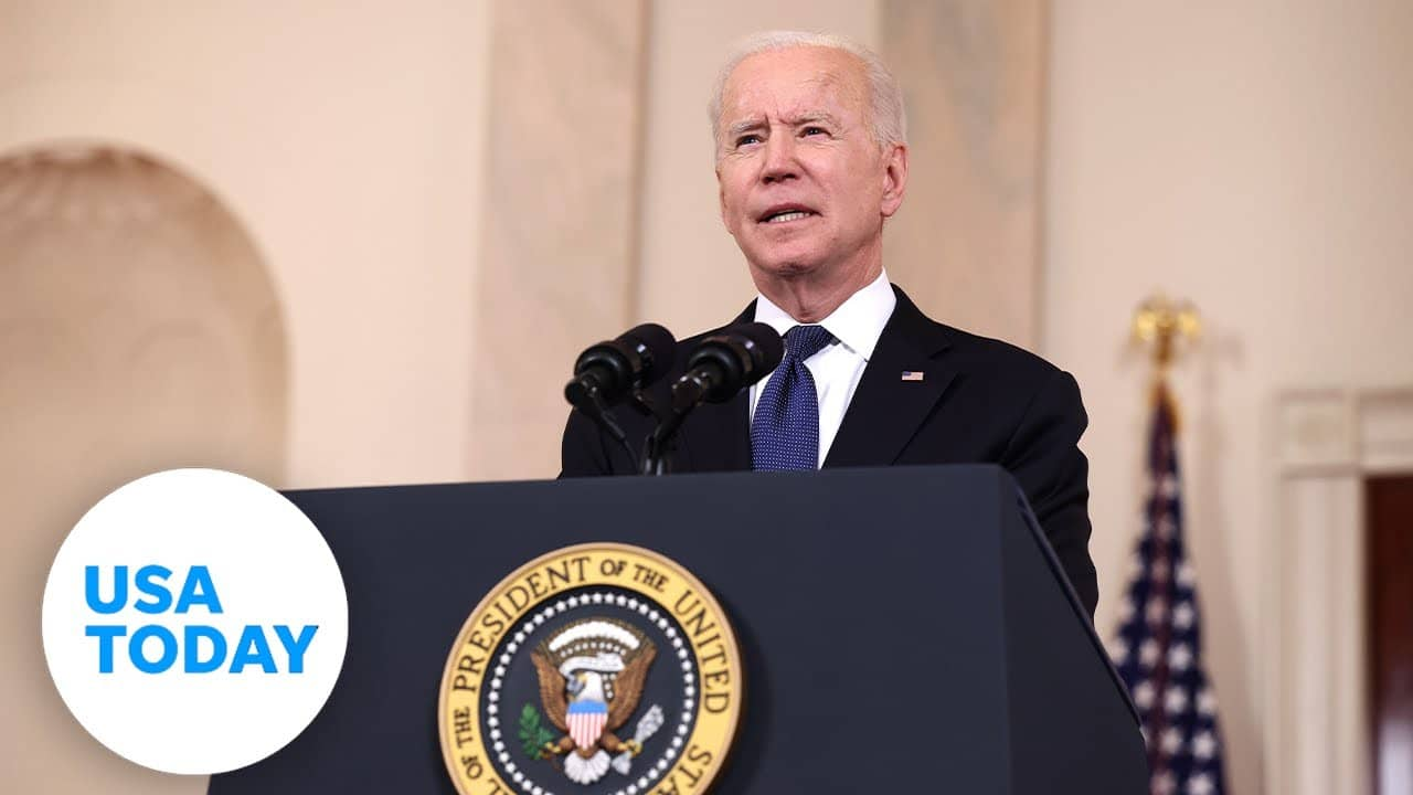 President Biden delivers remarks on the economy | USA TODAY 1