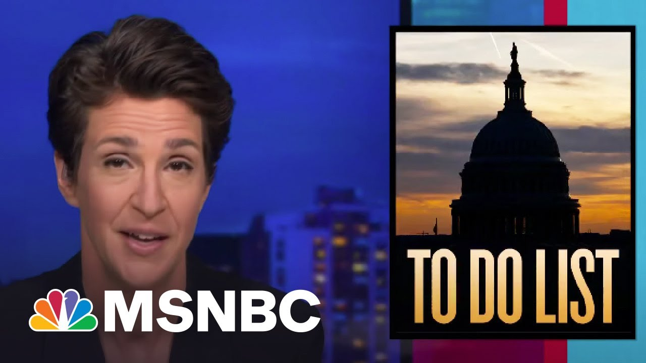 Democratic Tax Cuts, Stimulus Measures Seen To Be Revving Up Economy | Rachel Maddow | MSNBC 1