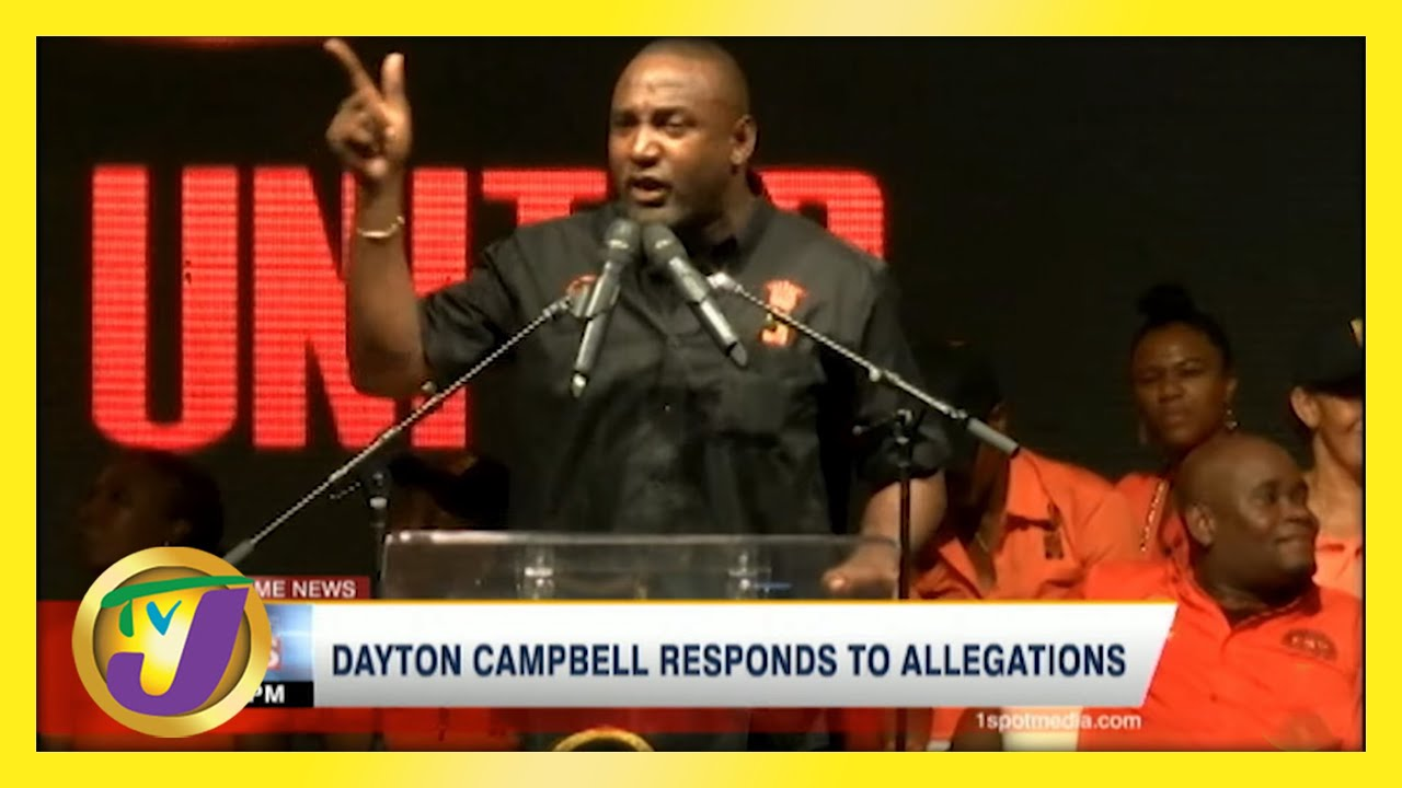 PNP Dayton Campbell Responds to Allegations | TVJ News - May 26 2021 2