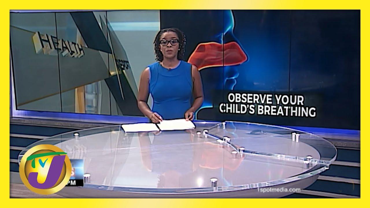 Do Not Ignore Noisy Breathing in Children | TVJ News - May 26 2021 1