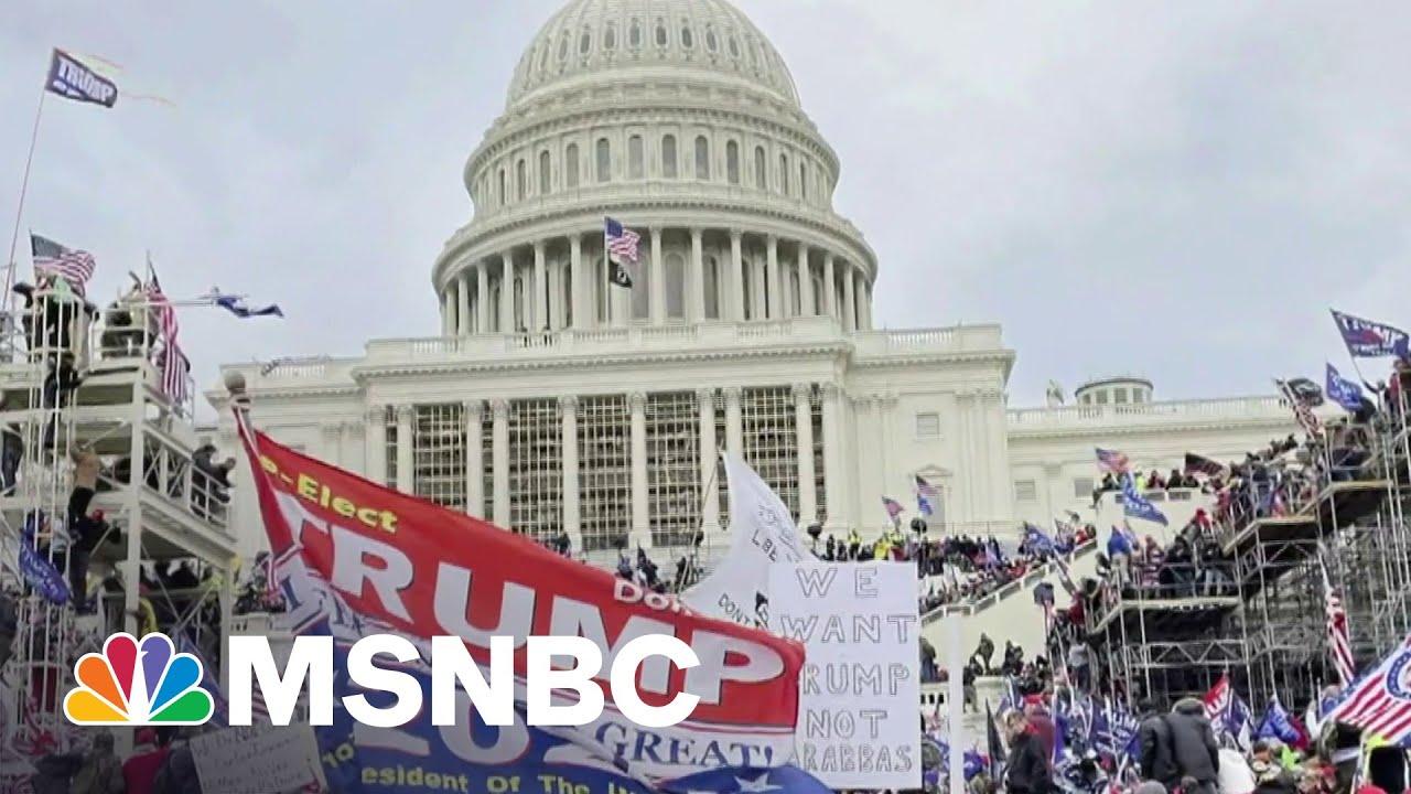 Republican Senators Stall Vote On January 6 Commission | MSNBC 1