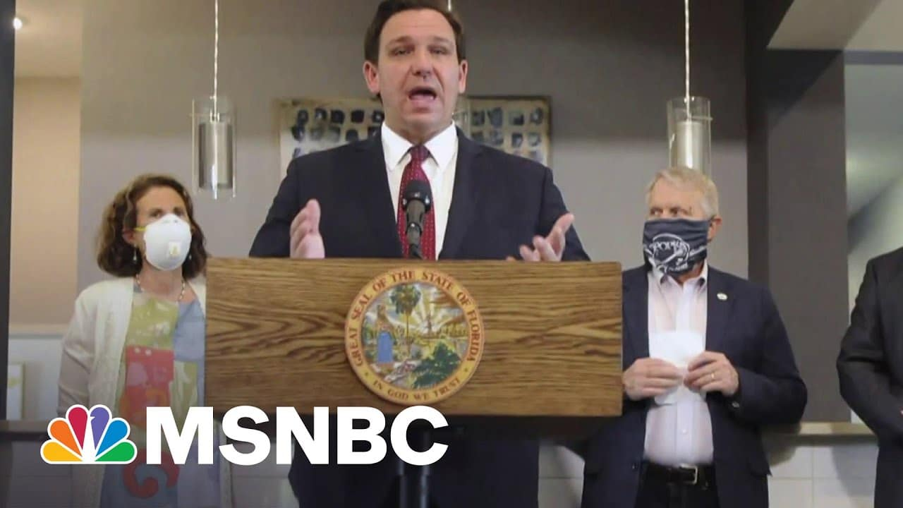 Florida Law Fines Social Media Companies For Banning Candidates   MSNBC 1