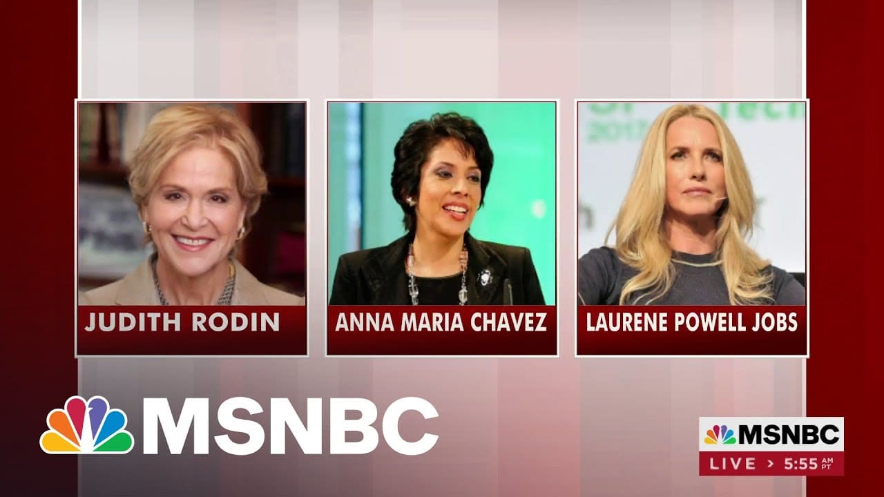 Forbes Prepares To Release Its 50 Over 50 List   Morning Joe   MSNBC 1