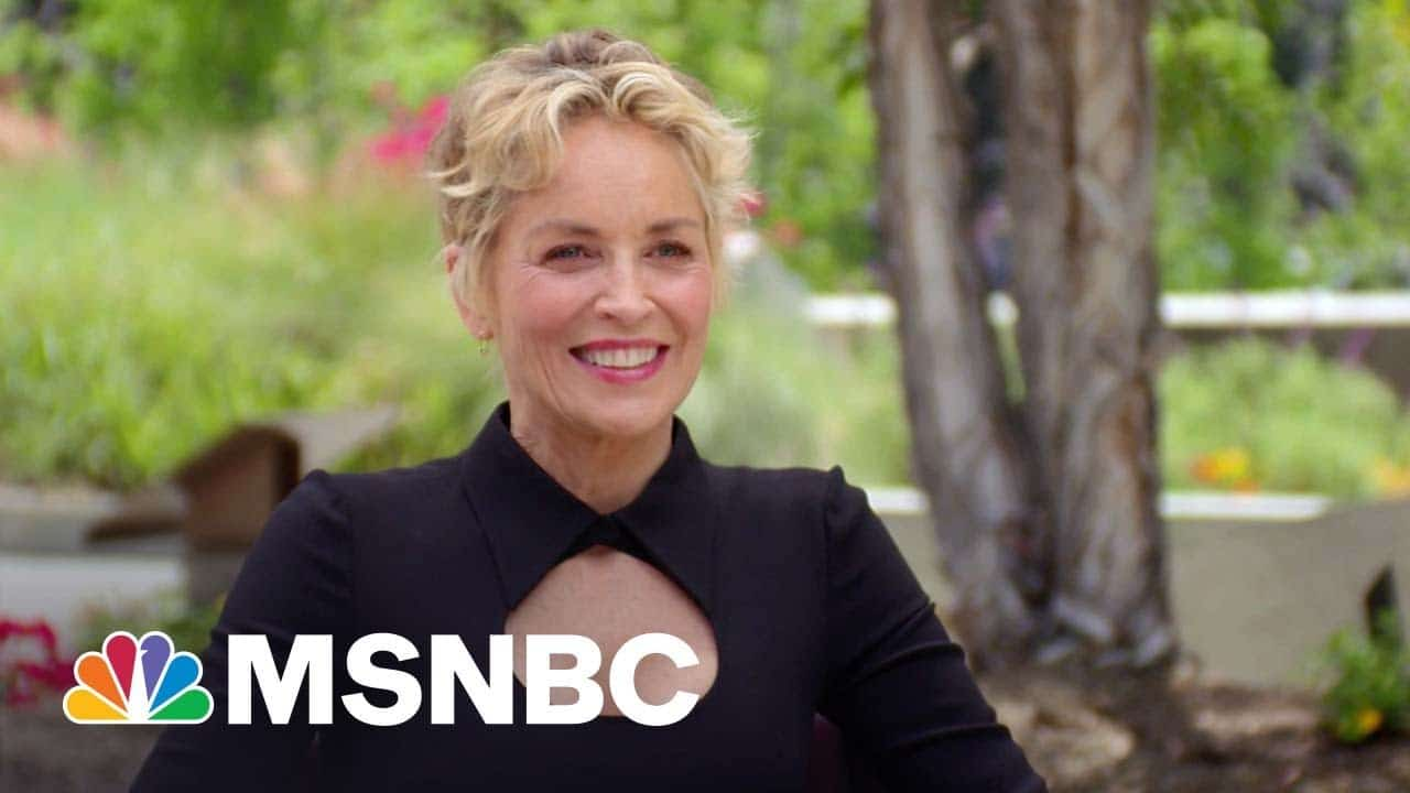 Sharon Stone On Iconic Roles, Emotional Golden Globe Win, Songwriting & Rap   MSNBC 1