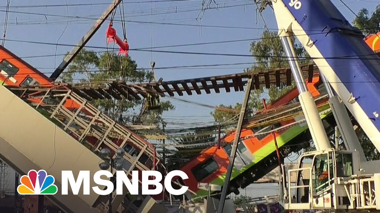 At Least 23 Dead After Subway Overpass Collapses in Mexico City | Stephanie Ruhle | MSNBC 1