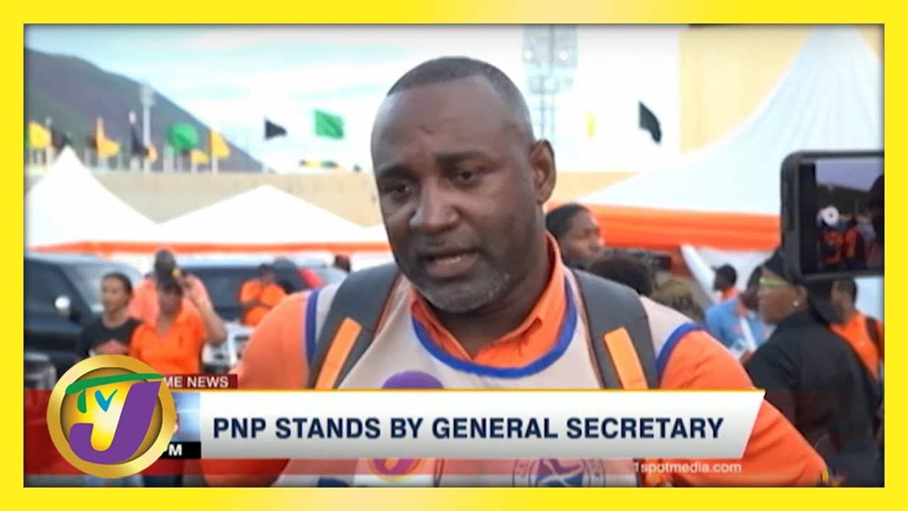 PNP Standing by General Secretary   TVJ News - May 27 2021 1