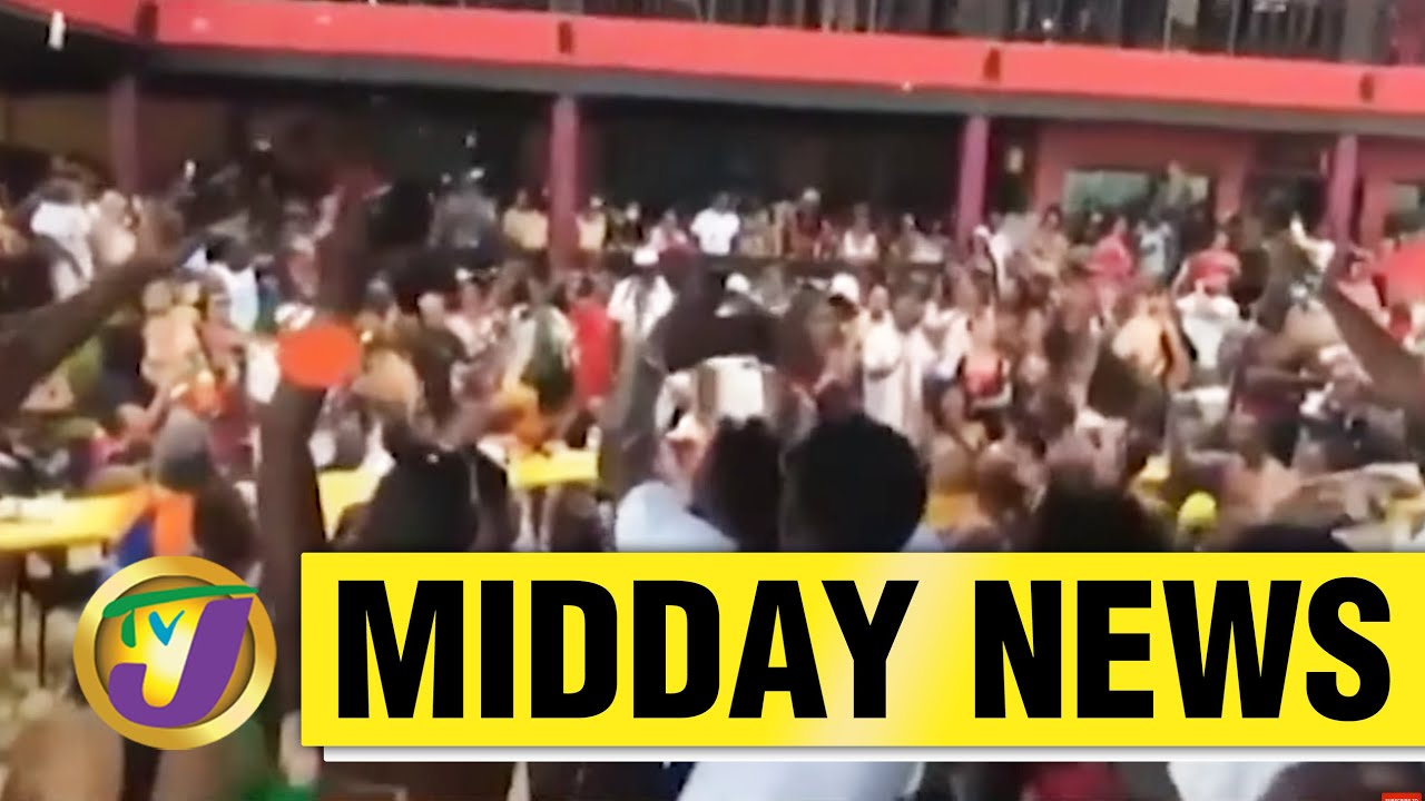 BIG Mochafest Party Held in Jamaica | Rick's Cafe Loses Certification | TVJ News - May 28 2021 1