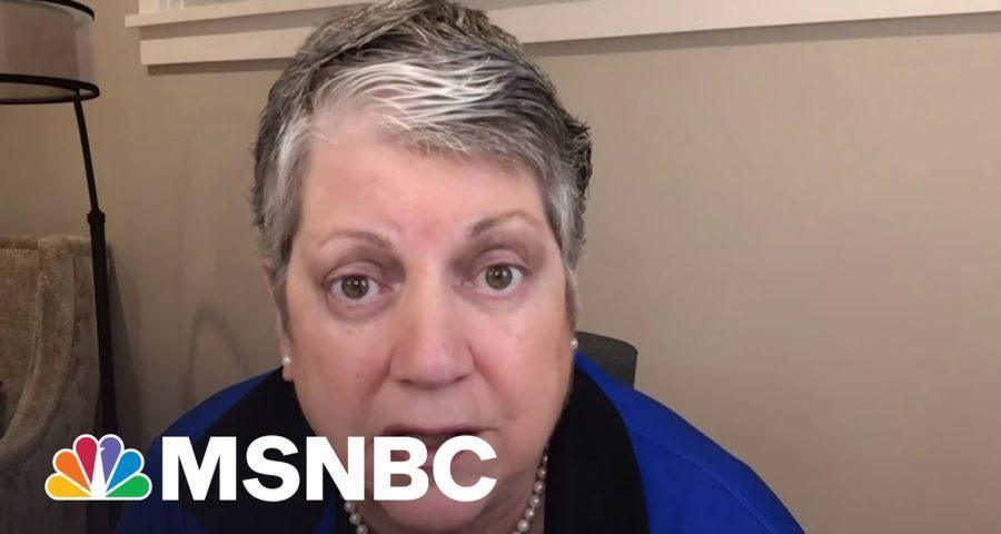 Fmr. DHS Sec. Slams GOP Senators For Ignoring Nat. Security Threats 1