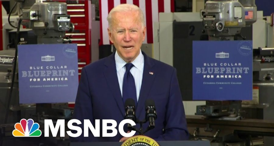 'It's Part of An Assault on Democracy': Biden Reacts to Texas Bill 1