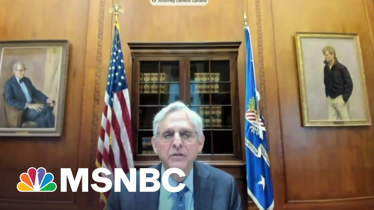 Merrick Garland Testifies Before Congress For First Time As AG | Hallie Jackson | MSNBC 1
