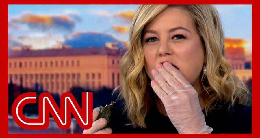 Watch Brianna Keilar eat dead cicadas on live TV 1