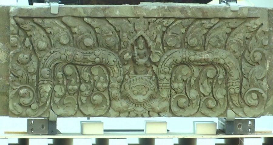 Thailand celebrates the return of stolen ancient lintels 1