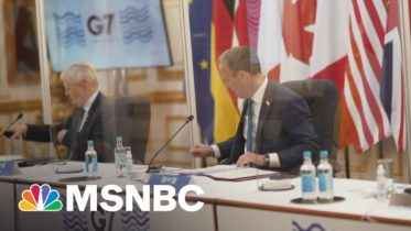 G7 Talks Center On How U.S. Allies Can 'Take A United Stand Against Russia' | Hallie Jackson | MSNBC 6