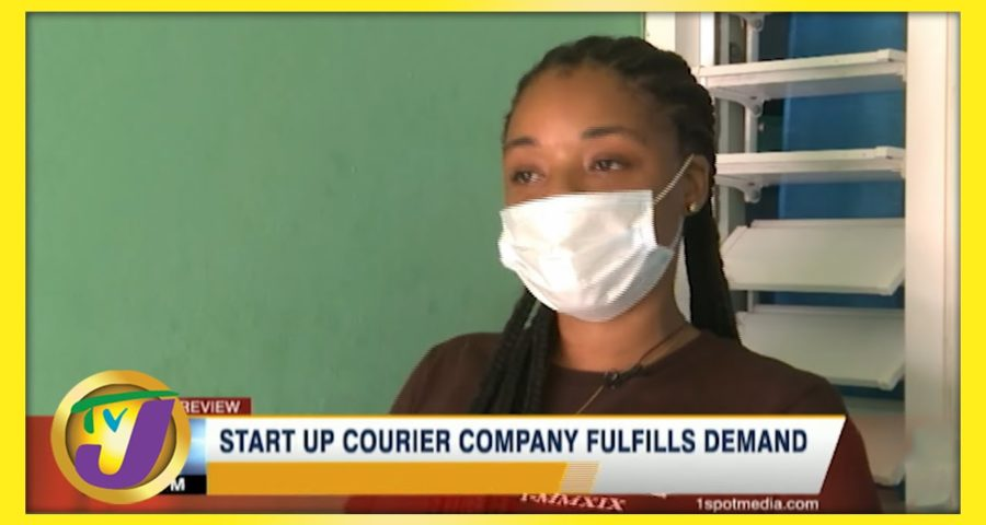 Start Up Courier Company fulfills Demand in Jamaica | TVJ Business Day - May 30 2021 9