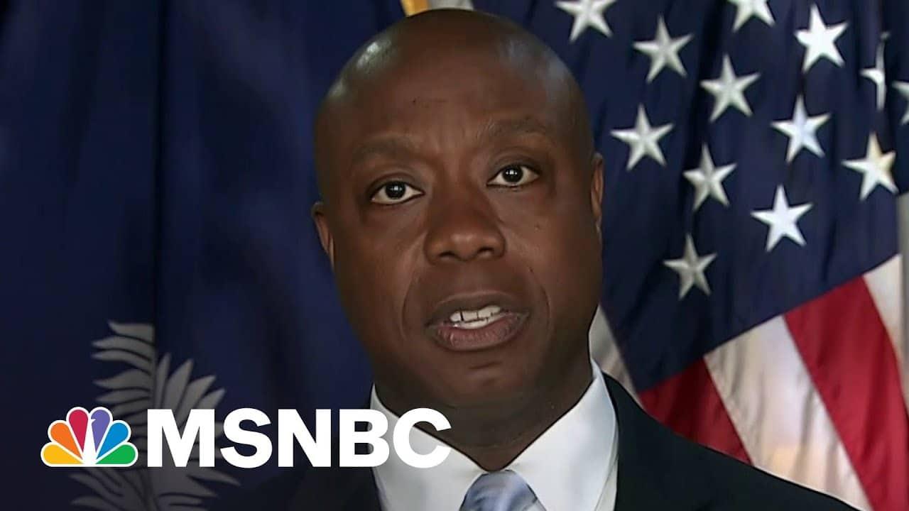 Tiffany Cross Rebuts Senator Tim Scott's Comments On Race in America | MSNBC 9