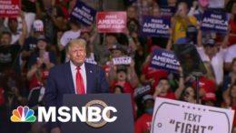 Republican Base Backs Trump As He Spreads Election Falsehoods | MTP Daily | MSNBC 6
