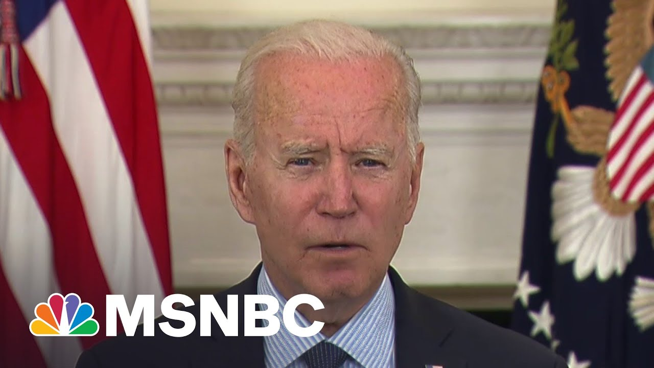 Biden Lays Out Plan For When FDA Green Lights Covid Vaccines For Children | MSNBC 1