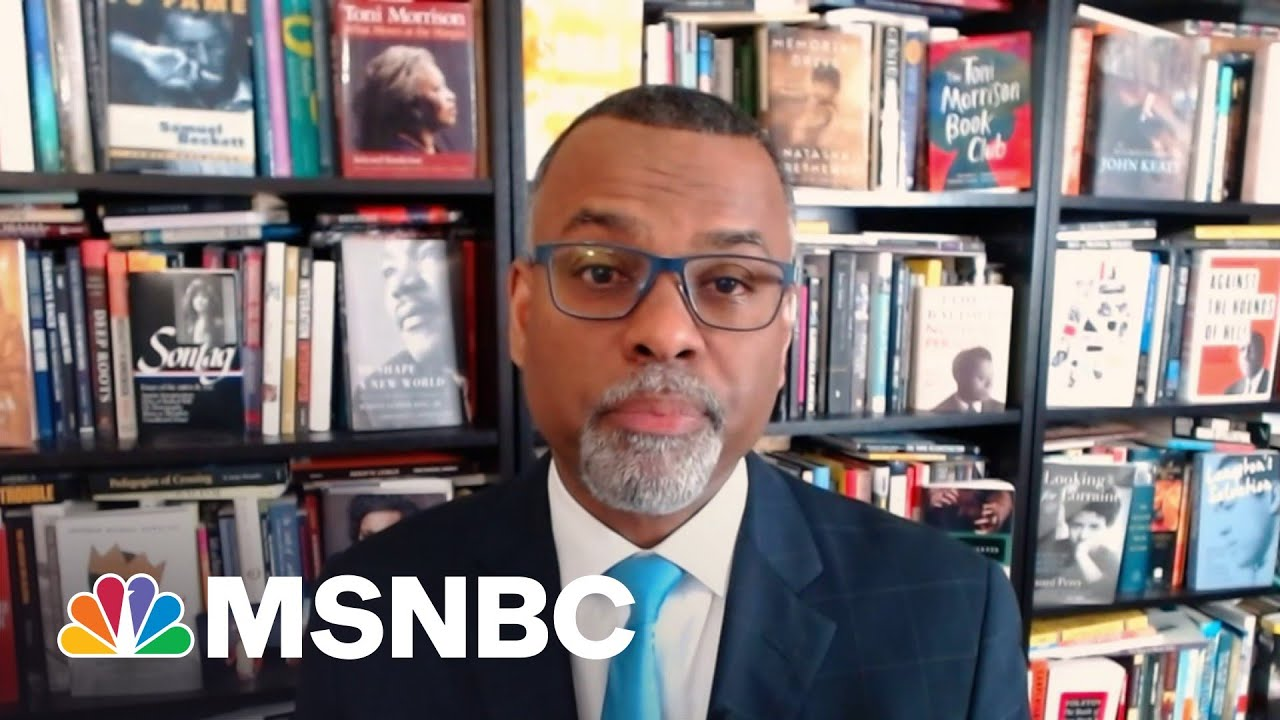 Eddie Glaude: There Is A 'Direct Line' Between January 6th And New Voter Suppression Laws | MSNBC 2