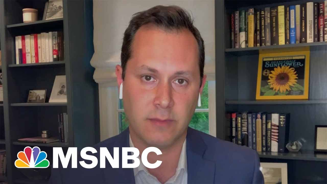 Politico's Sam Stein Says Democrats 'Could Be Pressing Harder' On Investigation Into Jan 6th   MSNBC 1