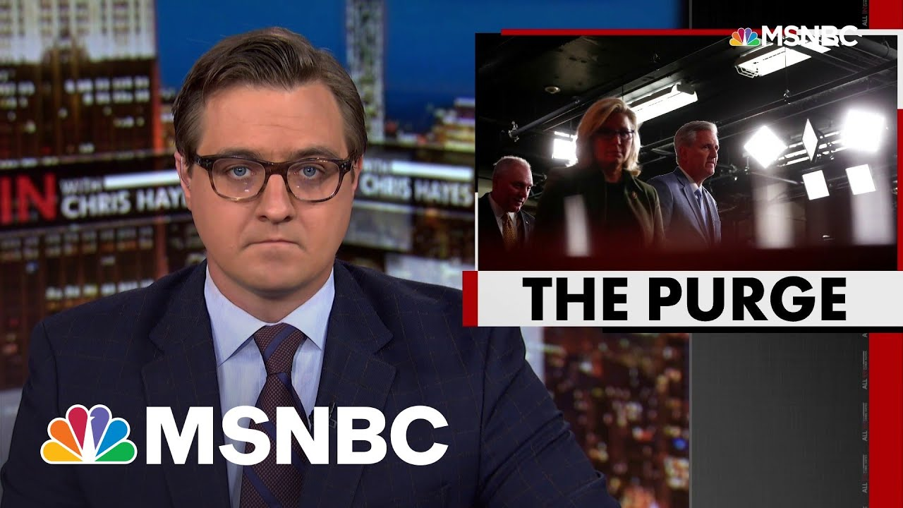 'Orwellian': Chris Hayes On GOP Move To Purge Cheney—And Truth From Their Party | All In | MSNBC 1