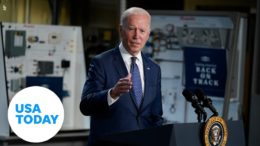 President Joe Biden announces new goal for vaccinations in US | USA TODAY 9