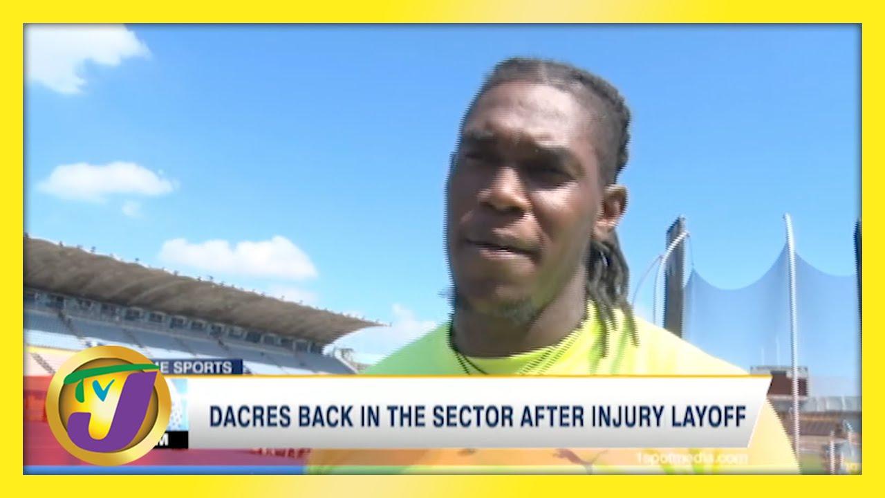 Dacres Back After Injury Layoff - May 1 2021 1