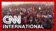India's leader holds rally with thousands as virus rips through country 3