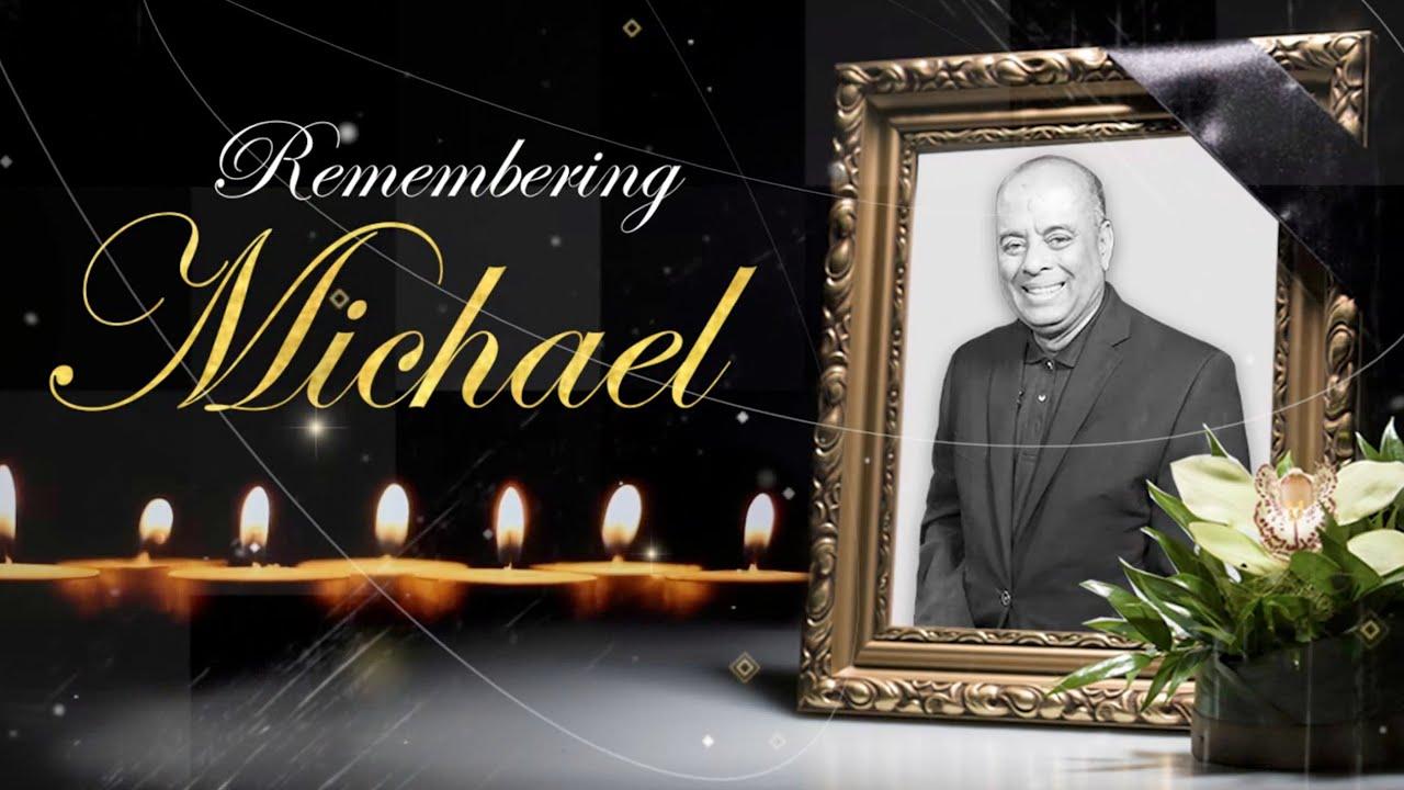 Remembering Jamaican Journalist Michael Sharpe - Funeral 1