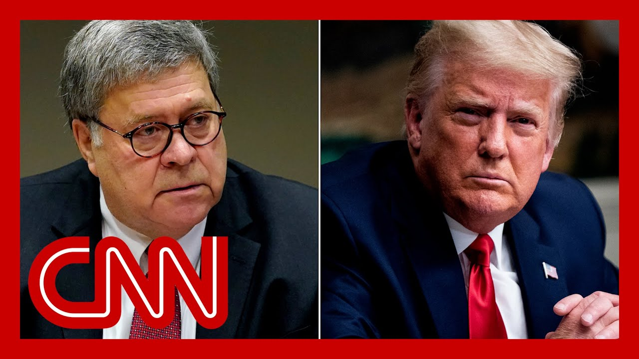 Judge orders Bill Barr's secret Trump memo to be released 1