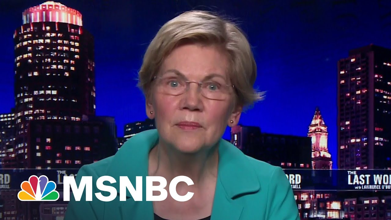 Sen. Warren On The Loss Of Her Oldest Brother To Covid-19 | The Last Word | MSNBC 1