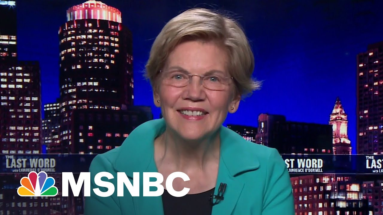 Sen. Warren: 'Americans Have Had It With Republicans On Taxes' | The Last Word | MSNBC 1