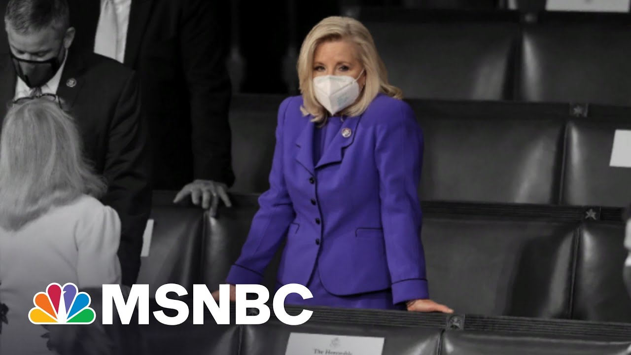 Liz Cheney May Lose GOP Leadership Role For Refusing To Lie | The 11th Hour | MSNBC 9