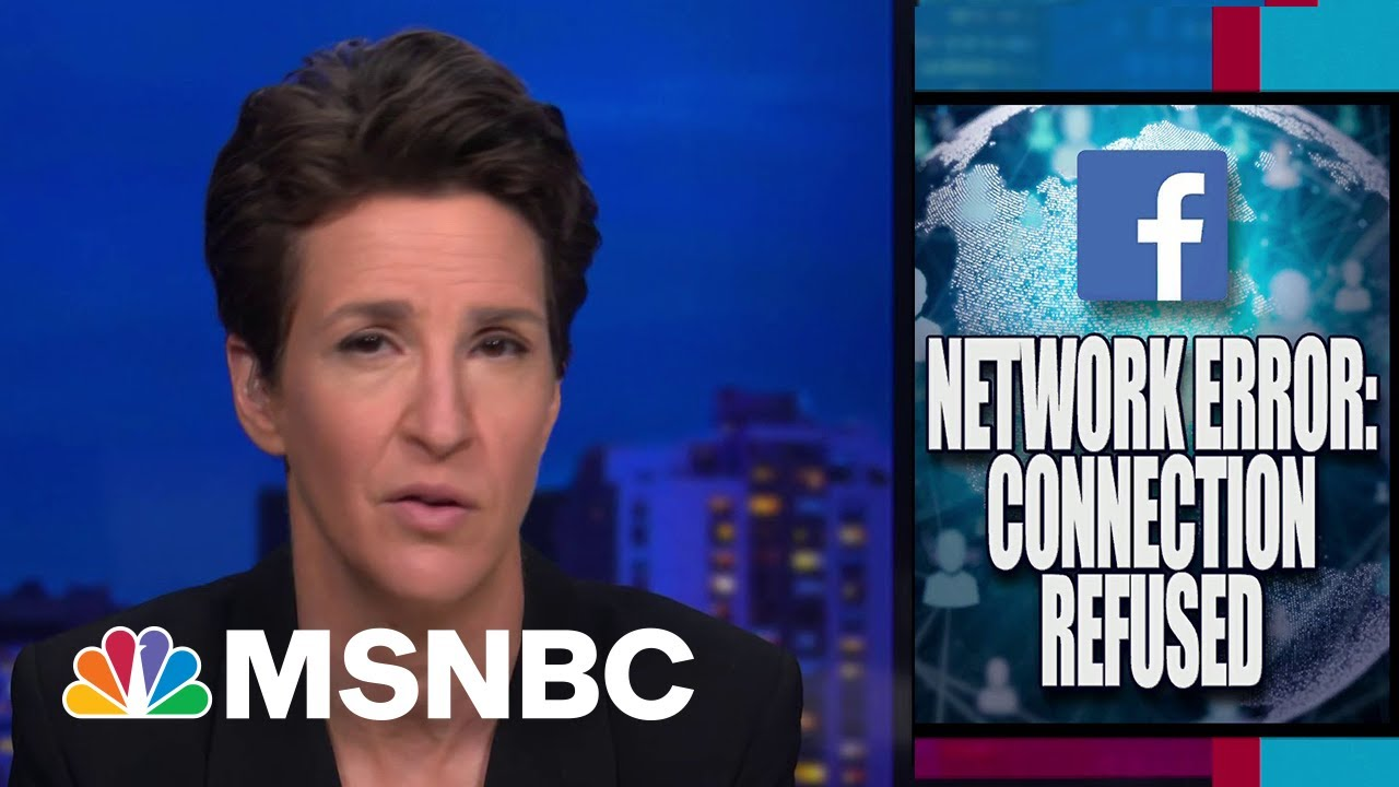 Facebook Reconsiders Trump Ban Following Right-Wing Misinformation Problems | Rachel Maddow 1