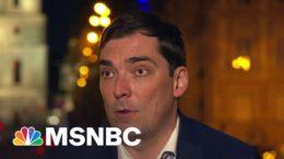 Former Ukraine Advisor To Zelensky Says Giuliani Wanted A Smear Campaign Against Biden | MSNBC 5