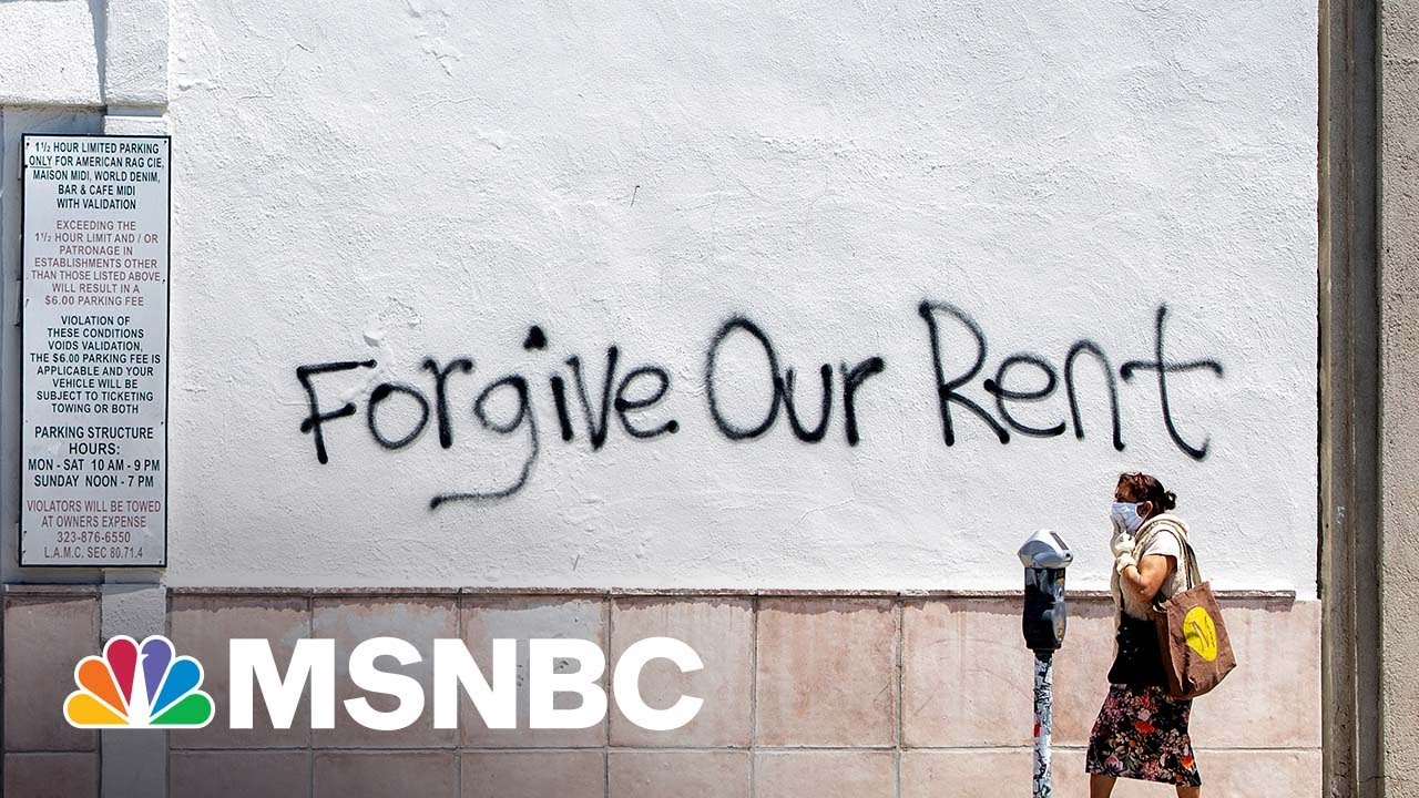 Judge Strikes Down National Moratorium On Evictions   MTP Daily   MSNBC 1